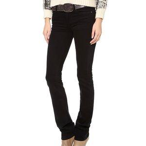 NWT COH Elson Mid-Rise Straight Leg Jean in Black